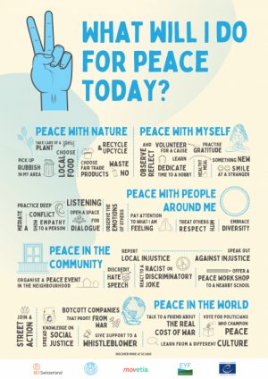 What will I do for peace today?
