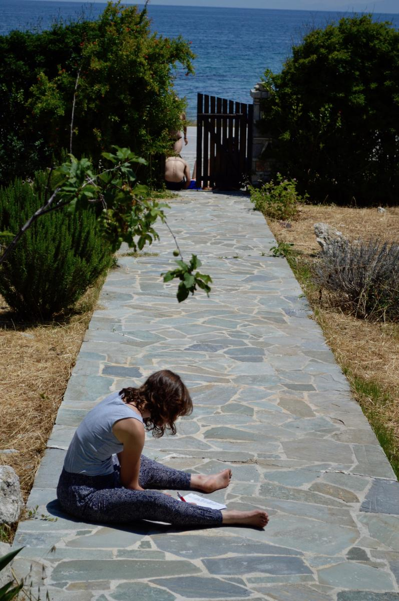 taking a time off- guest house in Lesvos