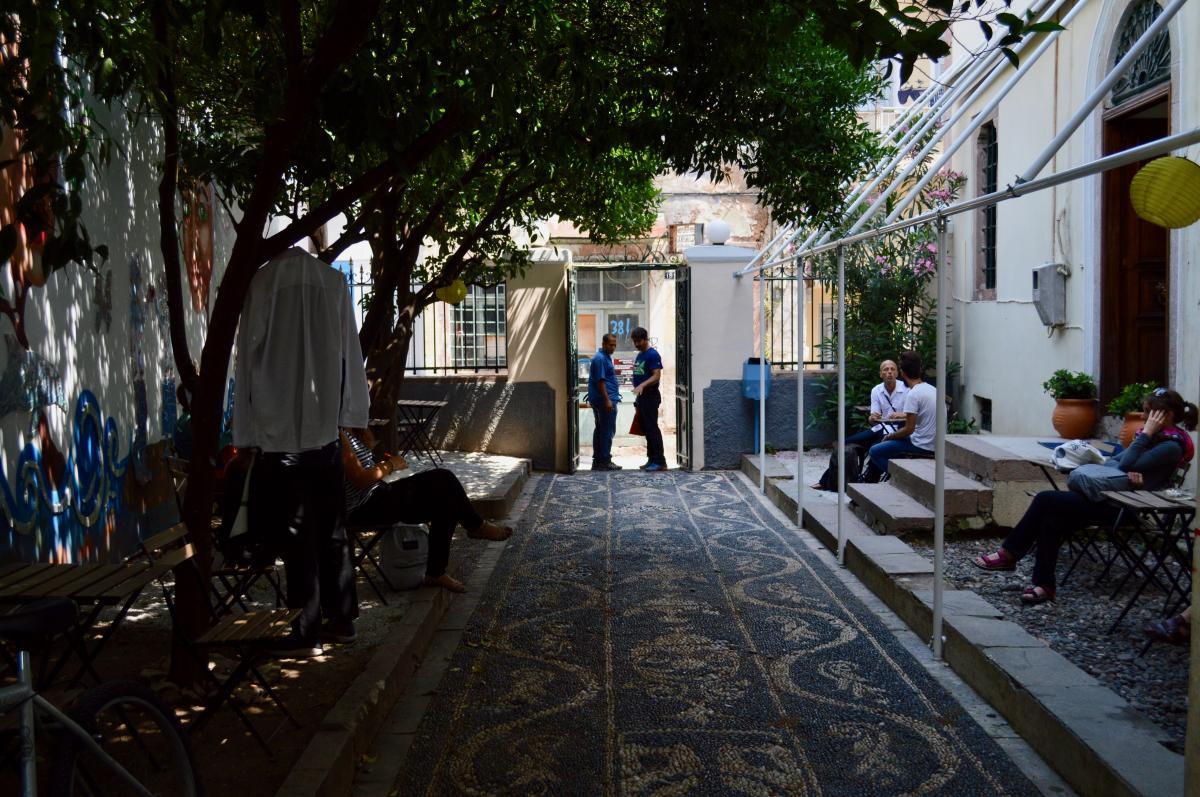 Mosaik Support Center in Lesvos Greece