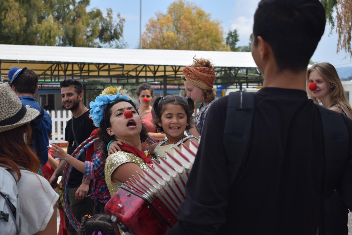 Kara Tepe Refugee camp Lesvos