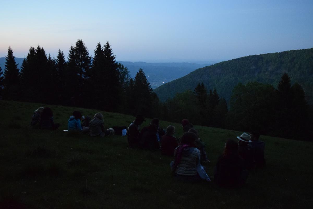 Enjoying the view - pohorje Slovenia