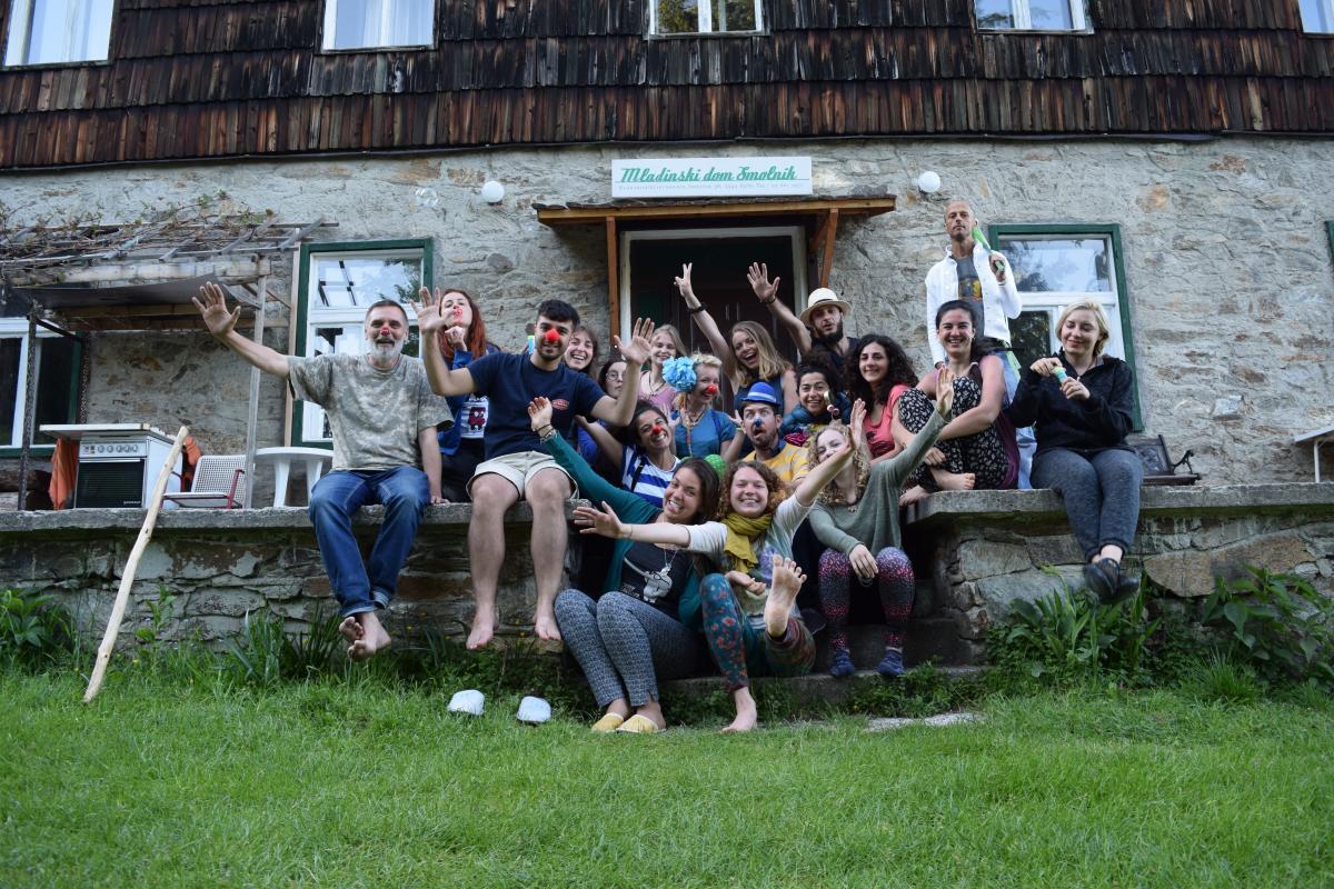 Group photo Training center Pohorje Slovenia