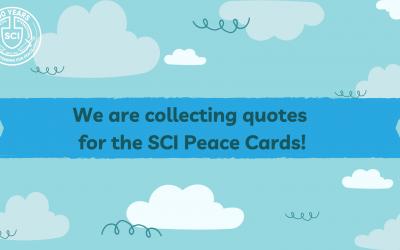 SCI Peace Cards