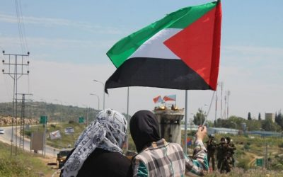Condeming the use of military force and violence in Palestine and standing in strong support to Palestinian people