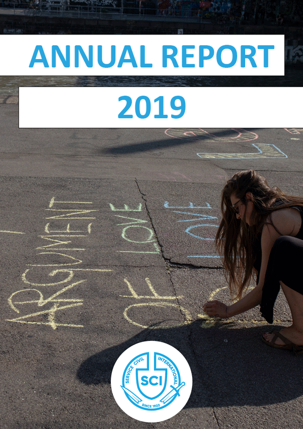 SCI Annual Report 2019 cover
