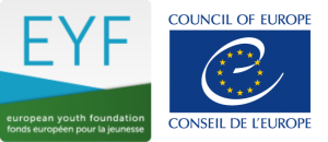 Logo of the European Youth Foundation and Council of Europe
