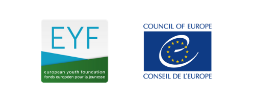 EYF and CoE logos