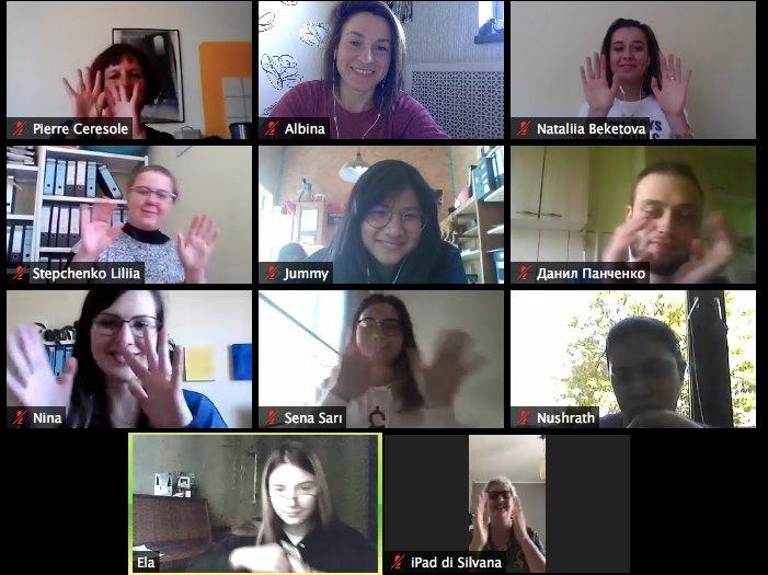 First SCI online workcamp 2020