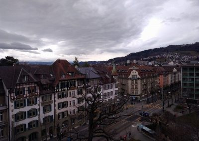 My arrival to Switzerland