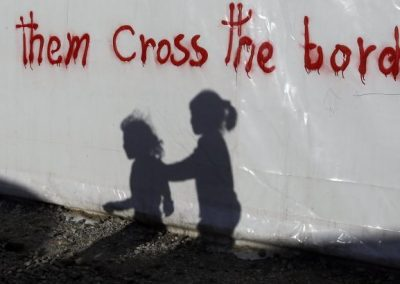 Almut's letter from a refugee camp in Greece