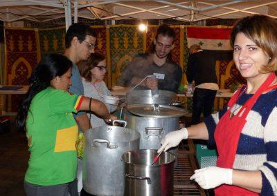 """""""Festa de la Sopa"""", intercultural recipes against racism"""