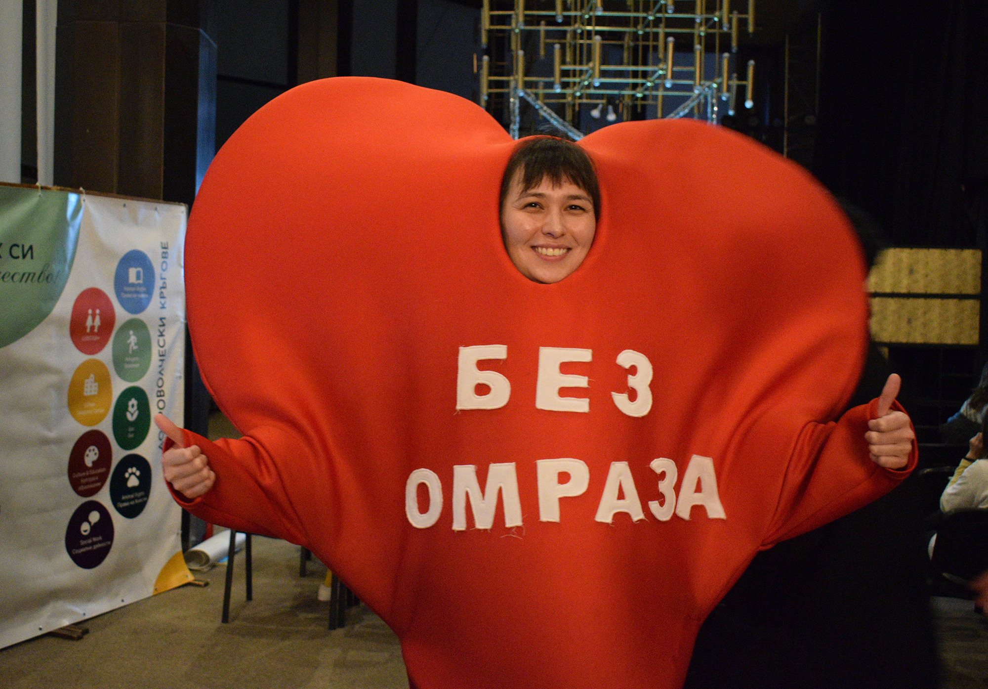 Working with NGOs during Dobrofest. © CVS Bulgaria