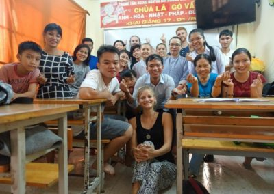 Experience in language teaching workcamp