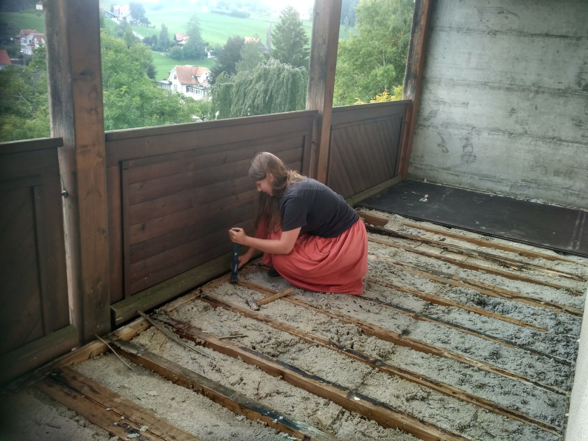 Iryna, from Ukraine (28), EVS in Switzerland